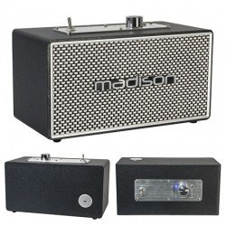 BOXA BLUETOOTH MODEL VINTAGE 15W MADISON