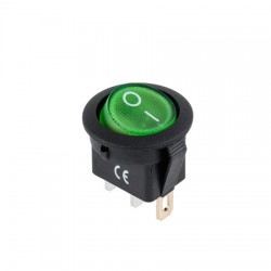 INTRERUPATOR 12V  VERDE IRS 101